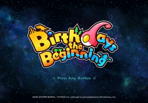 Birthdays the Beginning First Impressions